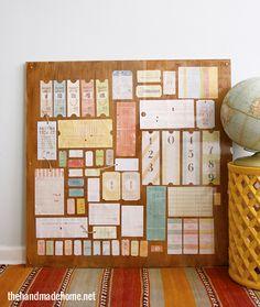 free vintage tag printables | the handmade home