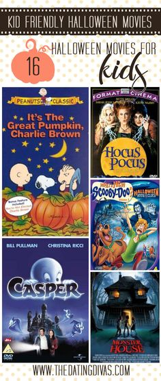 Kid-friendly Halloween Movie Marathon