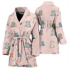 7cfe5d7341 Plump Cat Women s Bath Robe. Bath Robes ...