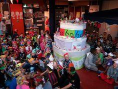 De kinderboekenweek 2014 hebben wij feestelijk geopend.