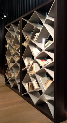 📣 94 Amazing Bookshelf Design Ideas - Essential Furniture In Your Home Simple Bookshelf, Bookshelf Design, Bookcase Shelves, Wall Shelves, Shelving, Bookcases, Steel Bookshelf, Concrete Furniture, Home Furniture