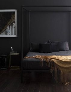 26 bedroom paint colors for cohabitating couples -★- black