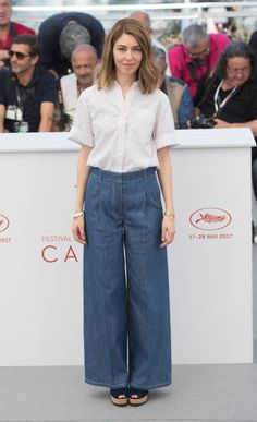 Sofia Coppola attends the 'The Beguiled' photocall during the 70th annual Cannes Film Festival at Palais des Festivals on May 24 2017 in Cannes France