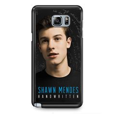 Shawn Mendez HandwaittenPhonecase Cover Case For Samsung Galaxy Note 2 Samsung Galaxy Note 3 Samsung Galaxy Note 4 Samsung Galaxy Note 5 Samsung Galaxy Note Edge
