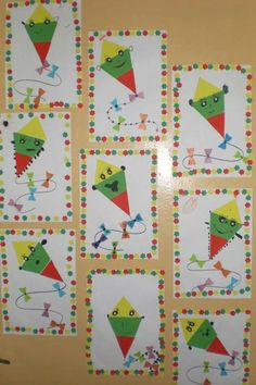 Toddler Crafts, Teacher Gifts, Craft Ideas, Yellow, Decoration, Paper, Green, Projects, Cards