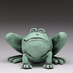 FROG! ceramic,handmade, clay                                                                                                                                                                                 More
