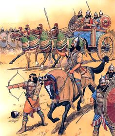 """Assyrians, 655 BC"""