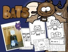 I created this quick print and go bat themed pack to supplement my October bat unit. This unit includes Literacy and Math activities that are kindergarten appropriate. Here is what you get.Bat Cave CraftBat Facts Emergent ReaderBat LabelingBat Can Have Are ChartBat RhymingBat begins with B-Beginning SoundsBat AdditionBat Symmetry PrintableWe See A Bat Sentence BuilderWhat drives you batty?