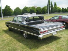 This is the first car I remember. My Dad's sleek, black 1964 Mercury Montclair.