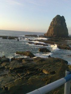 Papuma Beach, Jember, East Java, Indonesia