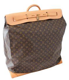 668253ec54b00 Rare Louis Vuitton Doctors Bag Steamer Tote Keepall Vintage 50s Monogram  Canvas w 2018 | Bags | Pinterest | Bags, Louis vuitton i Monogram canvas