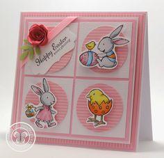 Paula Sievers: Stampin with Paula: Happy Easter Everybunny - 4/9/14  (SU: Everybunny)