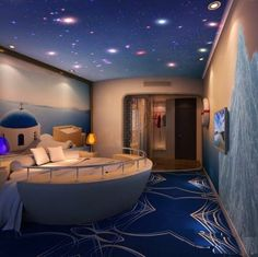 Sleeping on the sea, under the stars, not just a dream