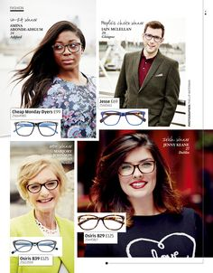 Meet the winners of the Spectacle Wearer of the Year Awards 2014.