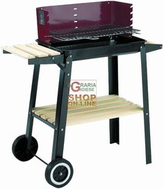 BLINKY BARBECUEE A LEGNA WOODY-48 CON RUOTE CM. 48X29 78790-40/7 http://www.decariashop.it/barbecue-a-carbone/1779-blinky-barbecuee-a-legna-woody-48-con-ruote-cm-48x29-78790-40-7.html