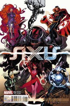"""EXCLUSIVE: Heroes & Artists Unite in """"AXIS"""" #1 Young Guns Variant - Comic Book Resources"""