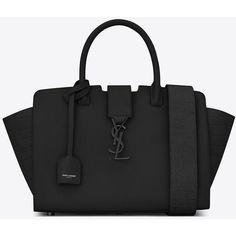 The ultimate designer handbag wish list Saint Laurent Baby Monogram Saint Laurent Downtown Cabas Ysl Bag Prada Handbags, Fashion Handbags, Purses And Handbags, Fashion Bags, Women's Fashion, Fashion Terms, High Fashion, Fashion Check, Suede Handbags