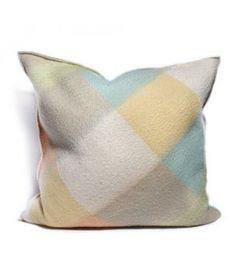Handmade Woolen blanket pillow by #FeelsRight