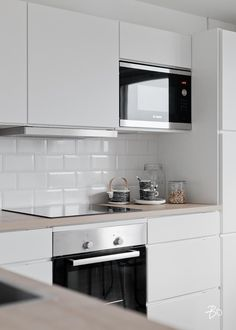 53 Top Modern Scandinavian Kitchen Design Ideas - Page 33 of 53 Best Kitchen Designs, Modern Kitchen Design, Interior Design Kitchen, American Kitchen Design, Modern Farmhouse Kitchens, Home Kitchens, Small American Kitchens, Kitchen Remodel Cost, Kitchen Remodeling