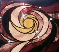 my bathroom #window - based on a whirlpool galaxy