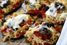 Fast Paleo » Eggplant Pizza Rounds - Paleo Recipe Sharing Site