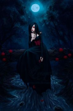 Explore the Gothic collection - the favourite images chosen by Lady-Elizriel on DeviantArt. Gothic Angel, Gothic Vampire, Vampire Art, Gothic Fairy, Victorian Gothic, Dark Gothic Art, Gothic Artwork, Gothic Fantasy Art, Fantasy Girl