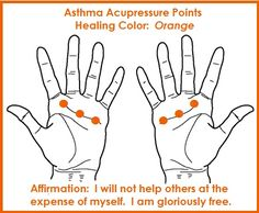 Color Acupressure for Asthma