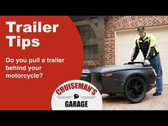 Tips On Towing A Trailer Behind Your Motorcycle Motorcycle Towing, Homemade Trailer, Tips, Youtube, Trailers, Motorbikes, Youtubers, Youtube Movies, Counseling