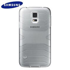 Carcasa Samsung Galaxy S5 Cover Plus Original Gris € 21,99