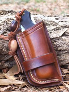 Nice leather friction sheath