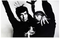 """hazedolly: Leonard Cohen with Marianne Ihlen. - hazedolly: """" Leonard Cohen with Marianne Ihlen (and carnival / kewpie doll), Up until now, I haven't really been on board with the = Worst Year Ever"""" meme (David Bowie notwithstanding). Stoner Rock, Leonard Cohen Lyrics, Adam Cohen, Suzanne Vega, Lifelong Friends, Laughing And Crying, Greatest Songs, Love Words, New Wave"""