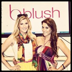 @Elle Fowler and @Blair Fowler at blush.com #skylark