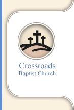 Crossroads Baptist Church We are located at:10721 Palm Beach Blvd.             Fort Myers, FL 33905 East off of  I-75 Exit 141 Directly across from the FPL Power Plant and adjacent to Manatee Park.     You can reach us by:  Phone: (239) 693-2777  Fax: (239) 693-5585  Email: hhill@crossroadsbaptist.net