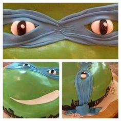 Pulla-Akka leipoo: Turtles-kakku
