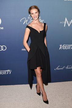 Rosie Huntington-Whiteley Little Black Dress - Rosie Huntington-Whiteley Looks - StyleBistro
