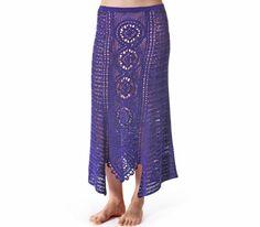 Crochet maxi skirt PATTERN for sizes S-2XL por CONCEPTcreative