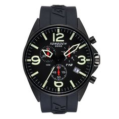 a20677f9249 Torgoen T16 Pilot Chronograph Watch - T16301 Price  £310.00 Stainless Steel  Case
