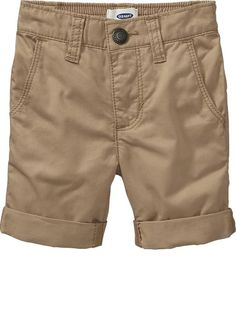 Cuffed Bermudas for Baby Product Image Toddler Boy Outfits, Toddler Boys, Kids Outfits, Baby Boys, Shirt Sale, Formal Shirts, Maternity Wear, Old Navy, Casual Shorts