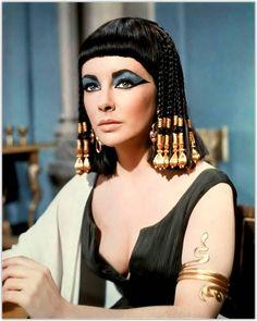 Elizabeth Taylor. Cleopatra, 1963.
