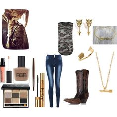 """""""bow huntin"""" by mercedesandhoss on Polyvore"""