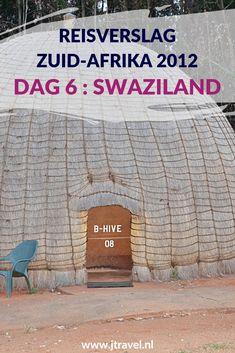 Op dag 6 van mijn 23-daagse groepsrondreis door Zuid-Afrika rijden we door buurland Swaziland en bezoeken een glasfabriek. Ik slaap deze nacht in een beehive. Alles over de zesde dag van mijn reis door Zuid-Afrika lees je hier. Lees je mee? #zuidafrika #swaziland #reisverslag #jtravel #jtravelblog