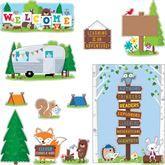 Woodland Friends Welcome Bulletin Board Set