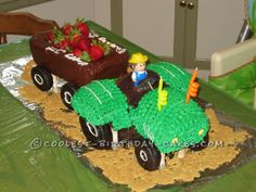 Coolest Tractor Cake