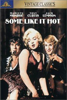 Some Like it Hot (DVD). Classic comedy and Marilyn Monroe is mesmerizing. http://libcat.bentley.edu/record=b1095918~S0