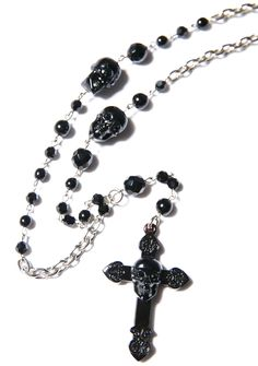 Tarina Tarantino Don't Cross Me Rosary Necklace | Dolls Kill
