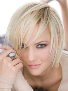 Korte Kapsels Blond Haar - Korte Kapsels