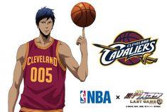 Collaboration NBA x Kuroko's Basket Last Game