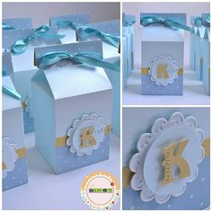 Baby Shower Party Favors, Baby Shower Parties, Baby Boy Shower, Baby Shower Gifts, Preschool Crafts, Crafts For Kids, Paper Box Template, Teddy Bear Party, Milk Box