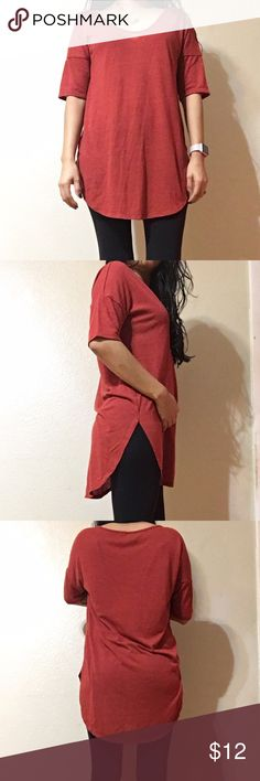 ❗️5 for $18❗️Old Navy tunic Super soft, long tunic, burnt orange color, from Old Navy, never worn but does not have tag Old Navy Tops Tunics