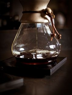 Brewing with Chemex by L.B. Imaging, via Flickr